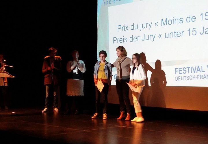 – Prix du jury « Moins de 15 ans » lors du festival vidéo pour les 6C