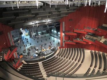 Les 5E mettent du cœur à l'ouvrage et visitent le théâtre de Caen