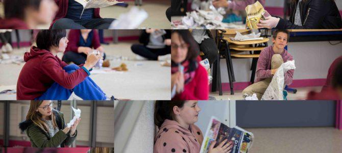 Feuilleton «Du Chœur à l'ouvrage»: Jouer de la musique avec du papier